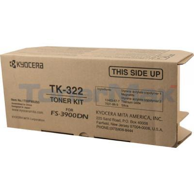KYOCERA MITA FS-3900DN TONER CARTRIDGE BLACK
